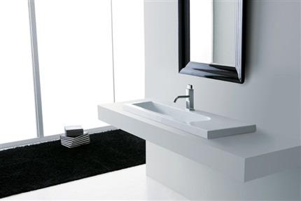 Lavabi bagno d 39 appoggio a parete semicasso da incasso for Lavabi bagno da incasso