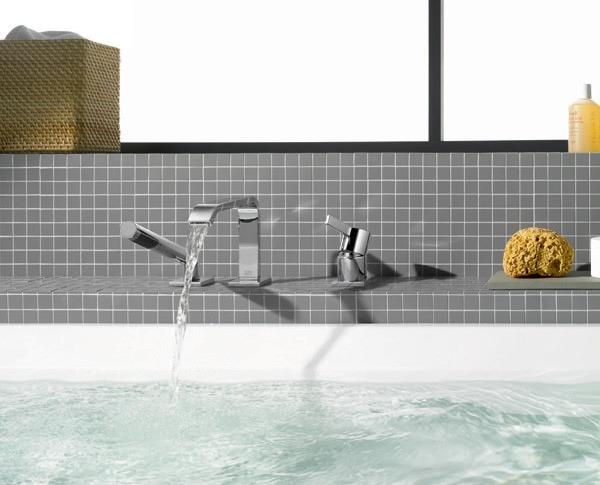 rubinetteria vasca da bagno: ad un foro, a tre fori ...